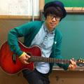 田村淳さん実使用 思い出のギター      『YAMAHA APX-6SA』 直筆サイン入り